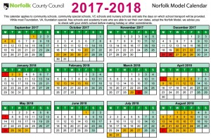 Term Dates | Swanton Morley VC Primary School